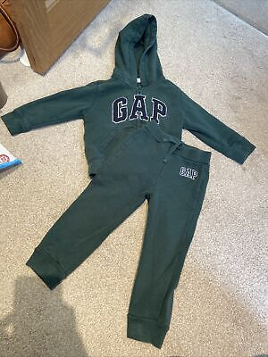 £3.75 • Buy Gap Baby Tracksuit Hoodie Jogger Age 3 Great Condition