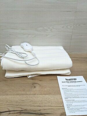 £11.99 • Buy DREAMSCAPE Comfort Single Electric Blanket Control With 3 Heat Settings
