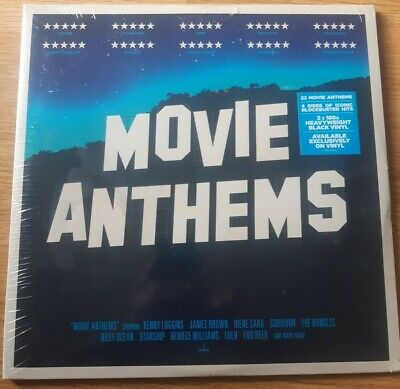 £3 • Buy Various Artists : Movie Anthems (DOUBLE VINYL) **NEW**