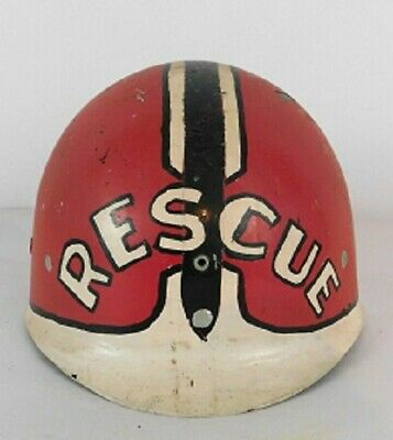$66.95 • Buy WWII U.S Army Military M1 Fiberglass Helmet Liner Shell Painted  RESCUE
