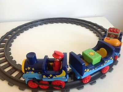 £14.95 • Buy Playmobil 123 Train With Driver 3 Items And Track Push Along Train Set  In VGC