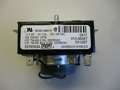$35 • Buy Used Whirlpool Stacked W/D Dryer Timer - Model# M460-G - M/N 3976569A