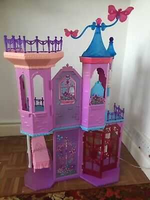 £13 • Buy Barbie Mariposa And The Fairy Princess Crystal Palace Dolls House (no Doll)