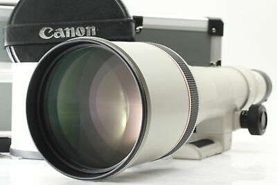 £1486.86 • Buy [Top MINT] Canon New FD 800mm F/5.6 L Super Telephoto Lens W/ Case From JAPAN