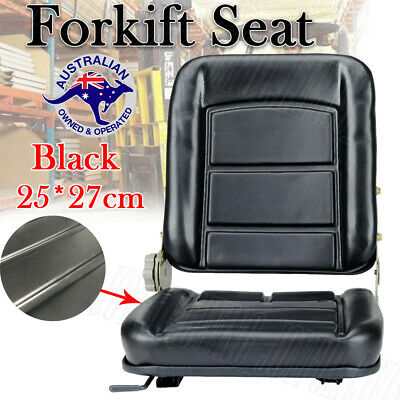 AU53.95 • Buy Forklift Seat Chair PU Adjustable Tractor Excavator Tractor Seat Machinery OZ