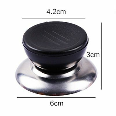 £4.79 • Buy 3 / 6X Cookware Saucepan Pan Lid Replacement Kitchen Hand Grip Knob Handle Cover