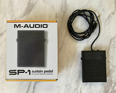 $6.90 • Buy M-Audio SP-1 Universal Sustain Pedal For MIDI Keyboards, Digital Pianos