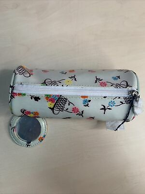 £5 • Buy Lulu Guinness Mirror Cylinder Flower Had Lady Printed Pouch | Box(29)
