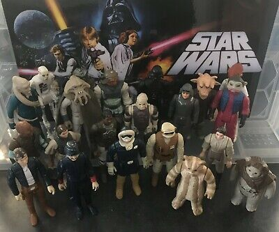 $ CDN37.82 • Buy Vintage Star Wars Figures - Bulk Lot - 21 All Different In Various Conditions