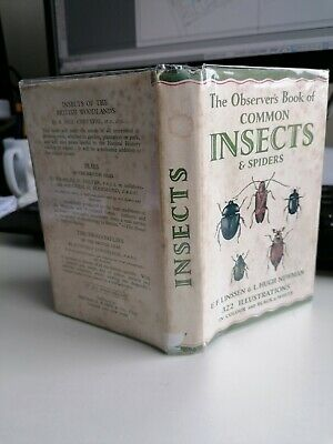 £8.99 • Buy Observer's Book Of Common Insects And Spiders 1954