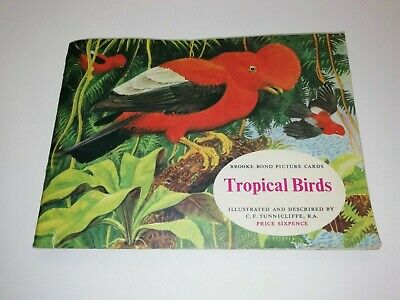 £1.29 • Buy Brooke Bond Tea Cards Album Tropical Birds Complete With All Cards