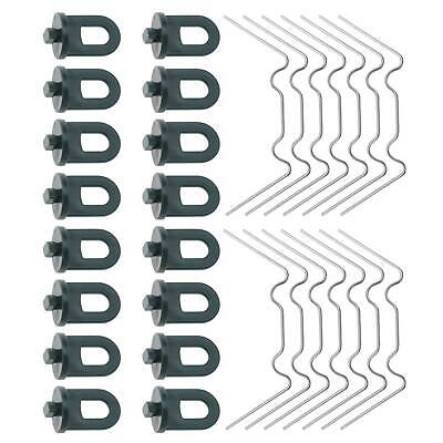 £11.23 • Buy 100pcs Greenhouse Accessories Glazing W Clip And Greenhouse Clip Repalcement Kit