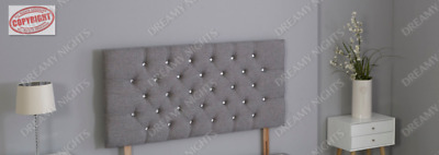 £28.49 • Buy Chesterfield Headboard Made In Linen Fabric