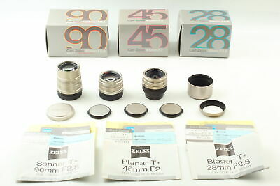 $ CDN1531.29 • Buy [ALL MINT] Contax Carl Zeiss 28mm 45mm 90mm Lens G Mount For G1 G2 From JAPAN