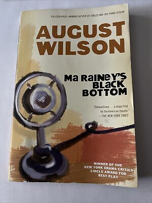 $5 • Buy Ma Rainey's Black Bottom : A Play By August Wilson (1985, UK-B Format Paperback)
