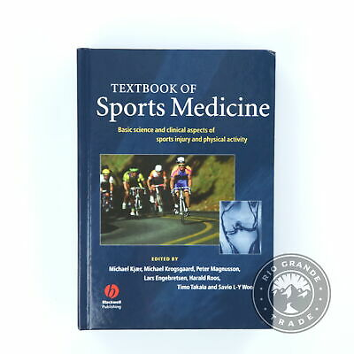 £133.27 • Buy USED Textbook Of Sports Medicine Blue Basic Science & Clinical Aspects Of Injury