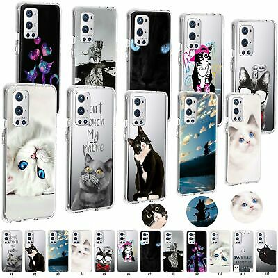 AU7.50 • Buy For OnePlus 9 8 7 6 5 3 Nord N10 5G Cat Patterned Soft Shockproof TPU Case Cover
