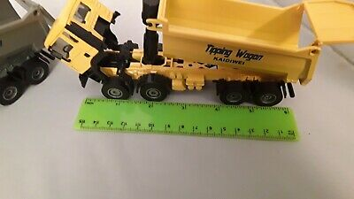 £15.40 • Buy Diecast Toy Tipper Lorries New Condition=2 Vehicles.
