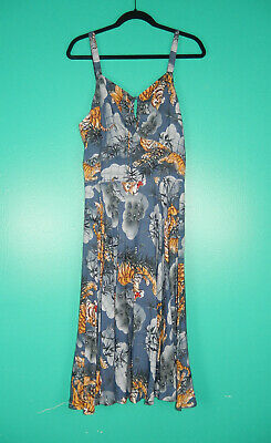 £84.06 • Buy Trashy Diva Traditional Tigers Vintage Style L'amour Dress 16 Nwt