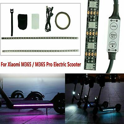 $14.48 • Buy Waterproof LED Light Strip Bar Lamp For Xiaomi M365 / M365 Pro Electric Scooter
