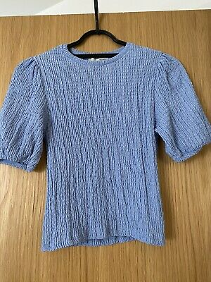 AU7.38 • Buy Pull And Bear Blie Crop Top - M