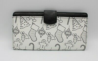 $9.98 • Buy Doodlz Color Your Own Wallet Gingerbread And Candy Cane Christmas Theme No Box