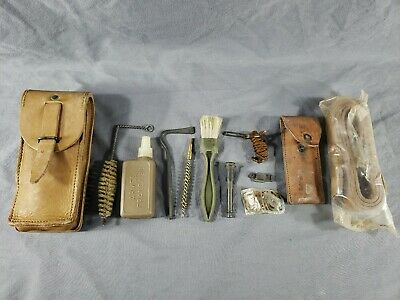 $60 • Buy Vtg Original French Military MAS 49/56 Rifle CLEANING/SPARE PARTS KIT Surplus