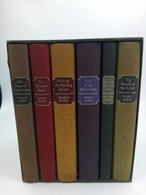 £30 • Buy THOMAS HARDY  BOX SET OF 6 THE FOLIO SOCIETY Includes The Return Of The Native