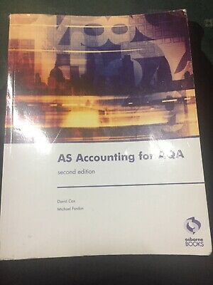 £3 • Buy AS Accounting For AQA