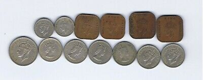 £1.21 • Buy 13 Different Coins From Malaya : 1939 - 1961