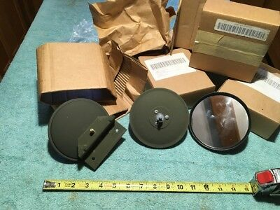 $55 • Buy Fits M151 M151A1 M151A2 Military Truck Jeep NOS Complete Set Rear View Mirror