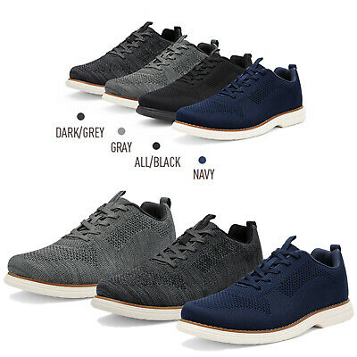 $16.49 • Buy Men's Fashion Sneakers Lace Up Knit Mesh Comfort Casual Shoes
