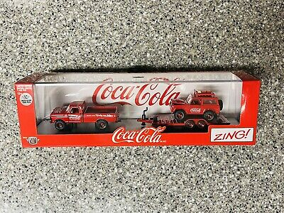 $60 • Buy M2 Machines Coke Hauler  **CHASE** 1972 Ford F-250 & 1966 Ford Bronco