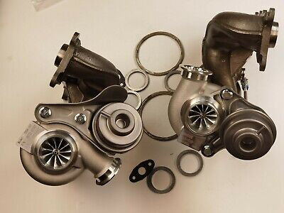 $ CDN1077.54 • Buy 16T 11 Blades Billet TWO Turbo Charger BMW 335i 335xi 335is LHD 3.0 N54 Ship USA