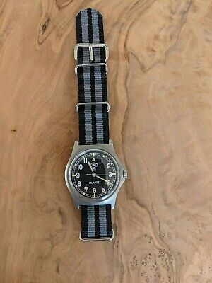 $ CDN163.30 • Buy CWC G10 Military Watch - W10- Royal Army Issued 1997 - In Excellent Condition