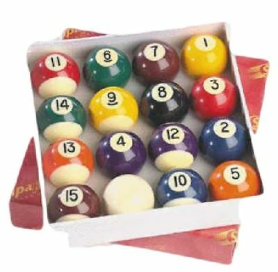 £27.30 • Buy Table Games 2  Pool Balls Solid Stripes Billiards Table Ball Match Quality Set