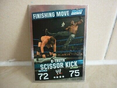 £0.99 • Buy WWE Trading Card R-Truth ( Finishing Move Smack Down ) Slam Attax Evolution.