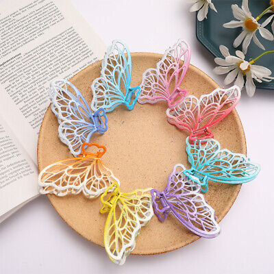 AU4.31 • Buy Fashion Women Metal Hair Claw Clips Clamp Accessories Hairpin Grip Butterfly
