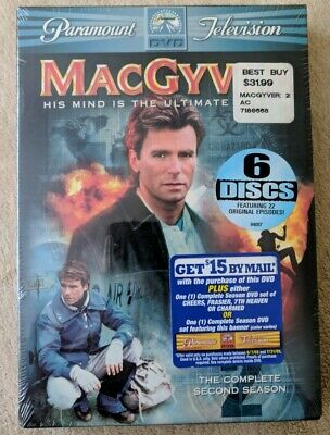 $13.99 • Buy MacGyver: The Complete Second Season (DVD) - New, Sealed