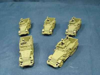 $9.99 • Buy 5 Flames Of War US M3 Scout Cars Battlegroup Military Game Piece