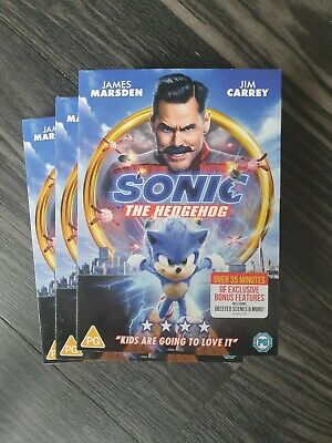 £7.95 • Buy Sonic The Hedgehog [2020] (DVD) NEW SEALED