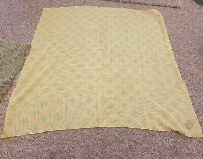 £1.50 • Buy Tie Rack Yellow And Green Scarf One Size