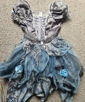 £1.60 • Buy Zombie Bride Dress Up With Wig  Age 3-4