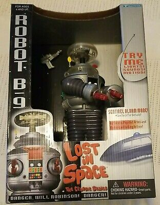 $ CDN43.35 • Buy LOST IN SPACE The Classic Series Robot B9  Electronic Trendmasters 1997 NEW  BOX
