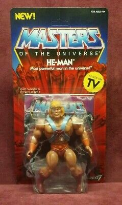 $35 • Buy Super 7 MOTU Masters Of The Universe He-Man As Seen On TV Action Figure NEW 2019