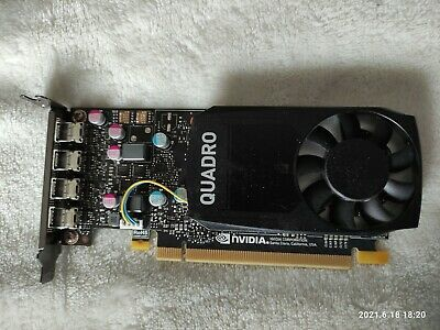 $ CDN189 • Buy Nvidia Quadro P620 2GB Video Card DDR5 Low Profile 4x Mini DP.Tested And Working