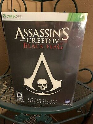 £61.28 • Buy Assassin's Creed IV Black Flag, Limited Edition, XBOX 360, NEW! Rare! Complete!
