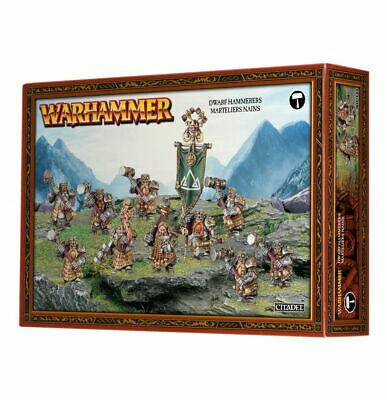 £34.91 • Buy Warhammer AoS Cities Of Sigmar Hammerers - Longbeards  -->NEW In BOX<--
