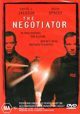 AU8.90 • Buy THE NEGOTIATOR New Dvd KEVIN SPACEY SAMUEL L JACKSON ***