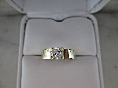 AU1784.60 • Buy 18K Yellow Gold 0.50Ct Natural Diamond Ring G.I.A